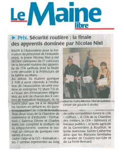 ARTICLE DU 3 JUIN 2013