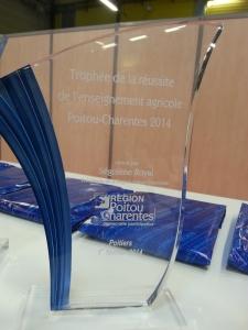 Trophée EA salon Etudiant 2014