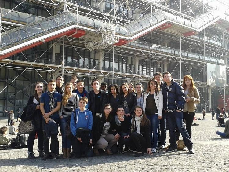 Les 3ème au Centre Pompidou
