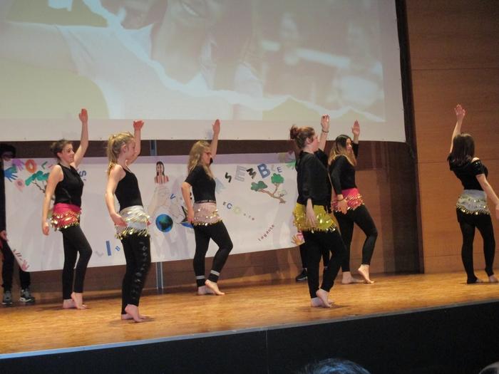 chorégraphie danse orientale